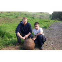 В Израиле найден древний артефакт — 1 500-летний кувшин