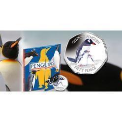 Фолклендські острови продовжили пінгвінів серію монет
