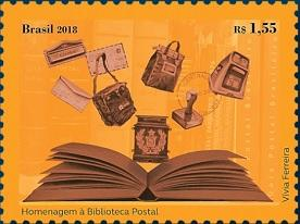 Бразилия выпустила марку в честь Национального почтового музея