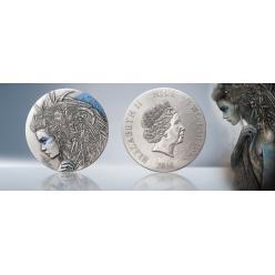 На монете Ниуэ изображена Кассандра, предсказавшая гибель Трои