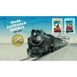В Австралии выпустили монету и почтовую марку в честь 100-летия Трансавстралийской магистрали