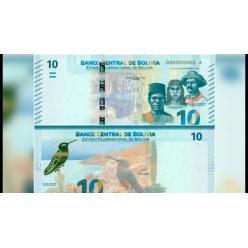 В Боливии появились в обращении банкноты номиналом 10 боливиано