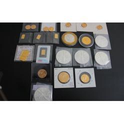 Американец пытался ввезти в Украину коллекцию из 22 серебряных и золотых слитков и монет