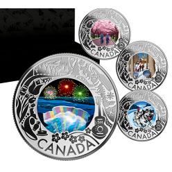 В Канаде отчеканена монета «Катание на собачьих упряжках»
