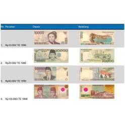 В Индонезии демонетизируют четыре банкноты