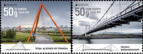Выпущены первые марки серии Европа 2018