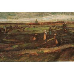Пейзаж Ван Гога «Женщины в дюнах за починкой сетей» впервые за 20 лет выставлен на торги