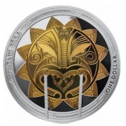В Новой Зеландии представили монеты, посвященные полинезийской легенде