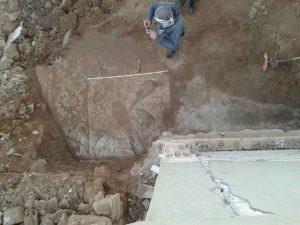 Сирийские саперы обнаружили древнюю византийскую мозаику