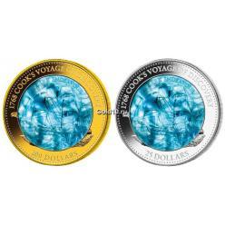 Монеты, посвященные Джеймсу Куку, отчеканены в Германии