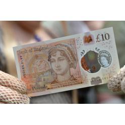 Банк Англии принял решение о будущем составе полимерных банкнот