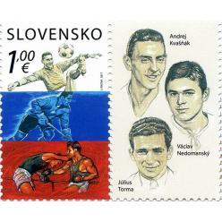 Почтовая марка «Легенды спорта» вышла в Словакии