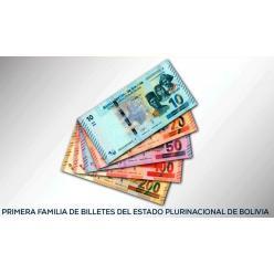 Сегодня в Боливии появится в обращении новая купюра
