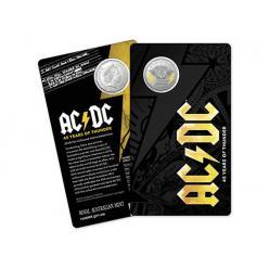  В Австралии отчеканили монету, посвященную рок-группе AC/DC