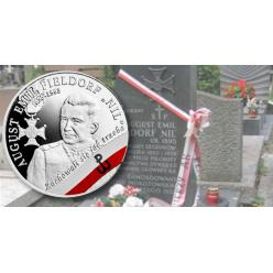 Польша выпустила памятную монету в честь генерала Августа Фильдорфа