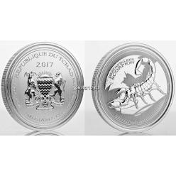 З'явилася монета із зображенням жовтого скорпіона