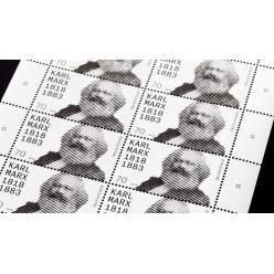 Германия выпустила марку в честь дня рождения Карла Маркса