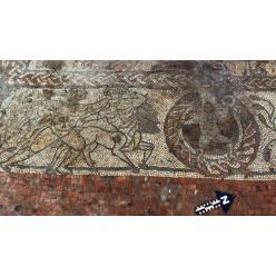 В Великобритании обнаружена древнеримская мозаика