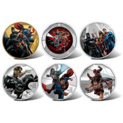 В Канаде выпущены коллекционные монеты с супергероями