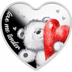 Польша представила новую монету в форме сердечка «Моя любовь»