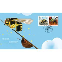 Канада представила новые марки с «национальными» пчелами