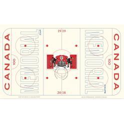 Оригинальную марку, посвященную годовщине Мемориального кубка, выпустила Канада