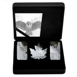В Канаде выпустили необычный нумизматический набор под названием «Крылья надежды»