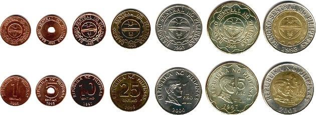 На Филиппинах в наличном обращении появятся монеты нового поколения