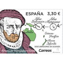 В Испании выпущена марка в честь известного мореплавателя и путешественника