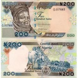 У Нігерії оновлена банкнота номіналом 200 наїра