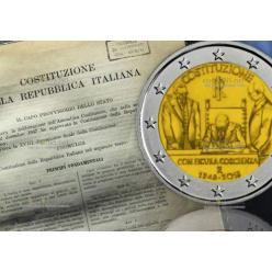 В Италии к 70-летию принятия действующей Конституции выпустят монету