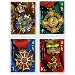 Марки с изображением медалей Первой мировой войны представили в Румынии