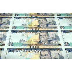Модернизированы гондурасские банкноты нескольких номиналов