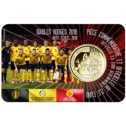 Бельгия анонсировала выпуск монеты в честь национальной сборной