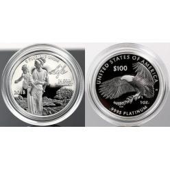 В США выпущена очередная монета «Американский орел — 2018»