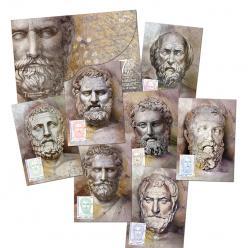 В Греции посвятили марки Семи Мудрецам Античности