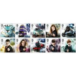 Почтовая служба Великобритании анонсировала выпуск марок в честь книг Джоаны Роулинг о Гарри Поттере