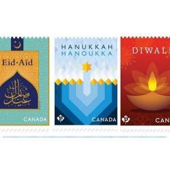 Марку с Ханукой выпустила почта Канады