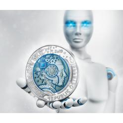  Австрия презентовала монету, посвященную искусственному разуму