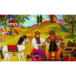 В Музее Гончара пройдет выставка живописи на стекле Анастасии Рак