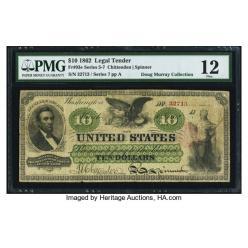  На аукцион Heritage выставлены редкие банкноты из коллекции Дуга Мюррея