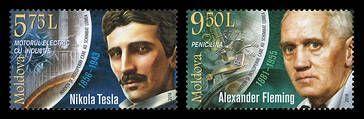 В Молдовии представлены новые марки из серии «Изобретения и открытия, изменившие мир»