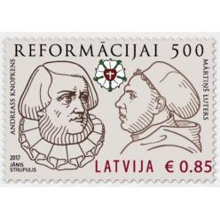 Новинки от Почты Латвии в честь 500-летия Реформации