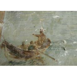 В Одессе случайно обнаружили старинную фреску