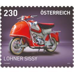 Австрия посвятила новые марки транспортным средствам страны