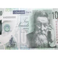 В Северной Ирландии появится полимерная банкнота номиналом 10 фунтов