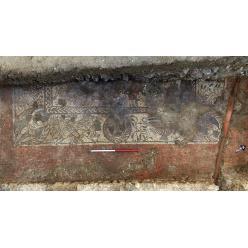 Уникальная древнеримская мозаика найдена в Англии