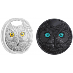 В Канаде появятся монеты, посвященные хорошо видящим в темноте хищникам
