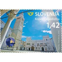 Словения выпустила марку с изображением города-победителя европейского конкурса туризма