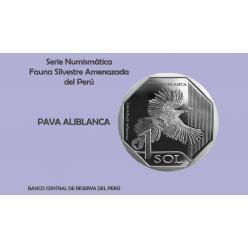 Выпущена четвертая монета из серии «Вымирающая дикая природа Перу»